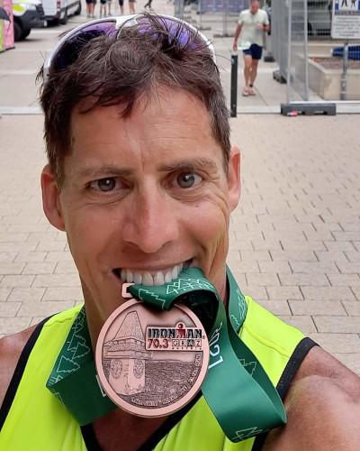 Sidney bei Ironman 70.3 Graz